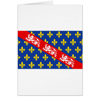 Marche (France) Flag Greeting Card