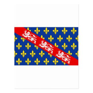 Marche (France) Flag Post Card