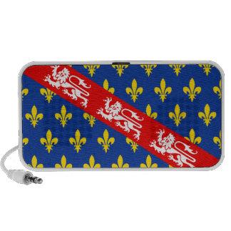 Marche (France) Flag Mini Speaker