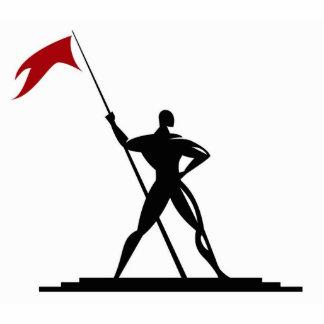 Marcher Lord Press Logo Statue Photo Sculptures