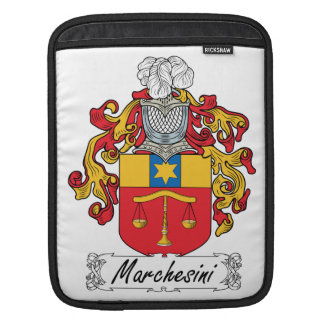 Marchesini Family Crest Sleeve For iPads