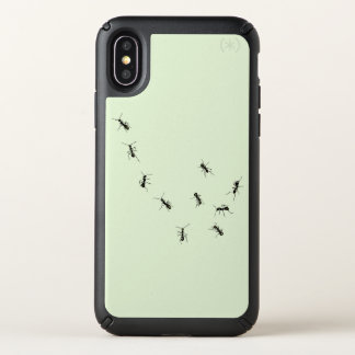 marching ants speck iPhone x case