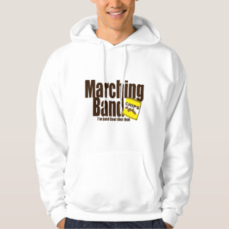 Marching Band and Chips Hoodie