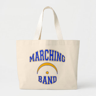 Marching Band and Proud of It Large Tote Bag