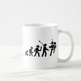 Marching Band - Bass Cymbal Classic White Coffee Mug