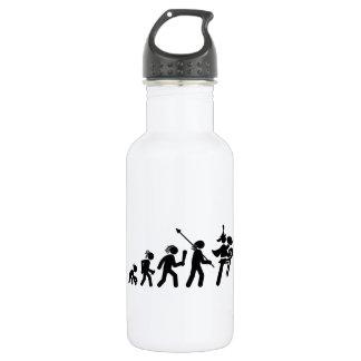 Marching Band - Bass Cymbal 18oz Water Bottle