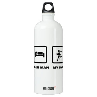 Marching Band - Bass Drum Water Bottle