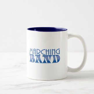 Marching Band Blues Two-Tone Coffee Mug