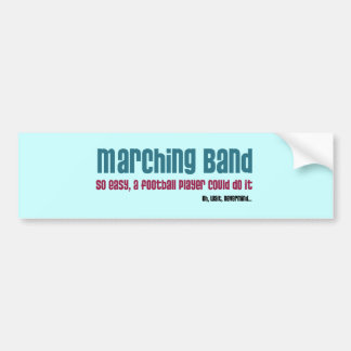 Marching Band Bumper Sticker