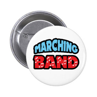 Marching Band Pinback Button
