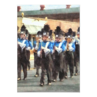 Marching Band Card