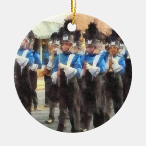 Marching band christmas ornament zazzle