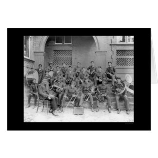 Marching Band Claflin University 1898 Card