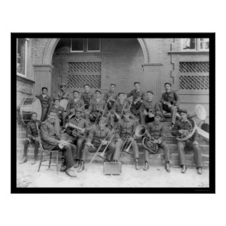 Marching Band Claflin University 1898 Poster