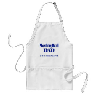Marching Band Dad/ Clarinet Adult Apron