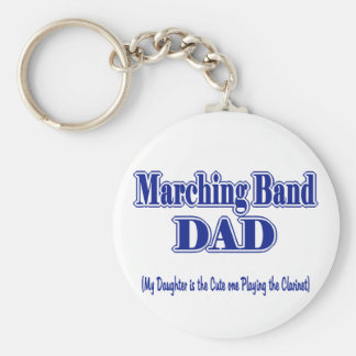 Marching Band Dad/ Clarinet Keychain