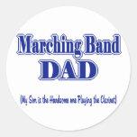 Marching Band Dad/ Clarinet Sticker