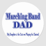 Marching Band Dad/ Clarinet Stickers