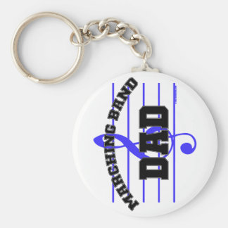 Marching Band Dad Keychain
