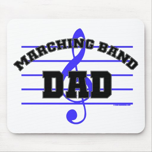 Marching Band Dad Mouse Pad