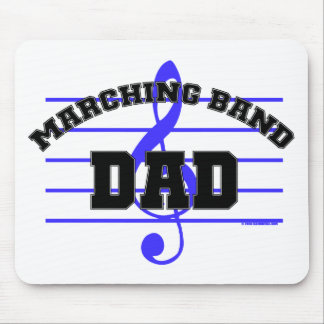 Marching Band Dad Mouse Mat