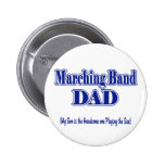 Marching Band Dad/ Sax Button