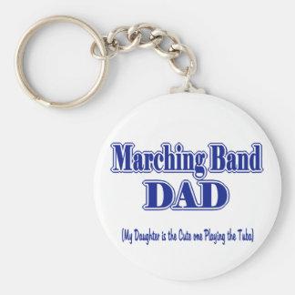 Marching Band Dad/ Tuba Keychain
