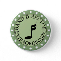 Marching Band Director Button
