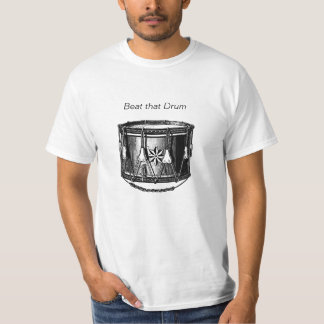 Marching Band Drum - Percussion Drummer T-Shirt