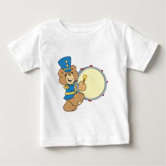Marching Band Drummer Bear Baby T-Shirt