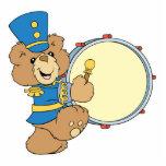 Marching Band Drummer Bear Photo Cutout