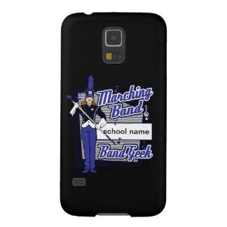 Marching Band Geek Blue Cases For Galaxy S5