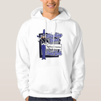 Marching Band Geek Blue Hoodie