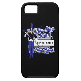 Marching Band Geek Blue iPhone SE/5/5s Case