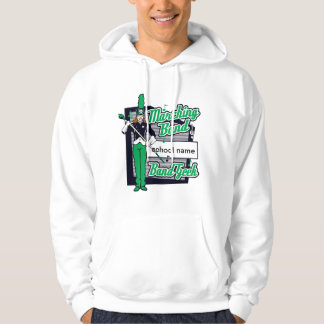 Marching Band Geek Green Hoodie