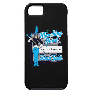 Marching Band Geek Light Blue iPhone SE/5/5s Case