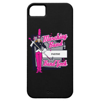 Marching Band Geek Pink iPhone SE/5/5s Case