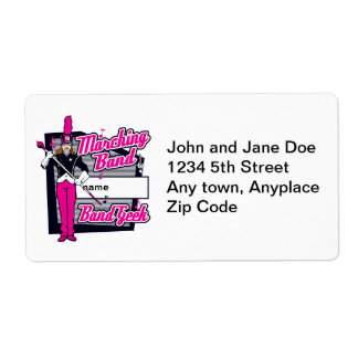 Marching Band Geek Pink Label