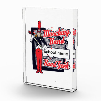 Marching Band Geek Red Award