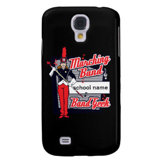 Marching Band Geek Red Galaxy S4 Case