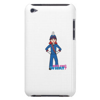 Marching Band Girl Light/Red iPod Touch Cover