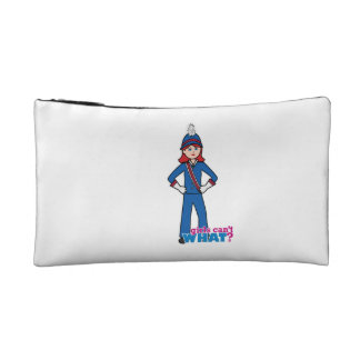 Marching Band Girl Light/Red Makeup Bags