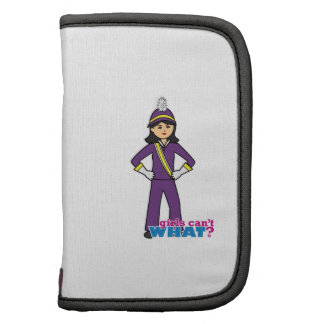 Marching Band Girl -  Medium Folio Planners
