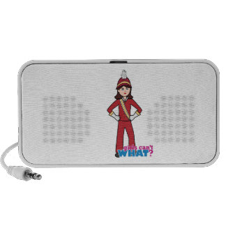Marching Band Girl Portable Speakers