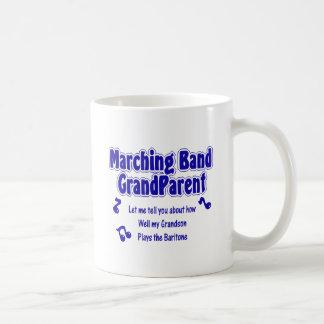 Marching Band Grandparent/ Baritone Coffee Mug
