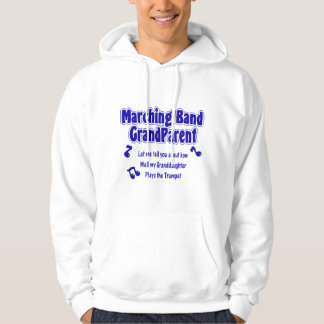 Marching Band Grandparent/ Trumpet Hooded Pullover