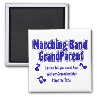 Marching Band Grandparent/ Tuba Fridge Magnets