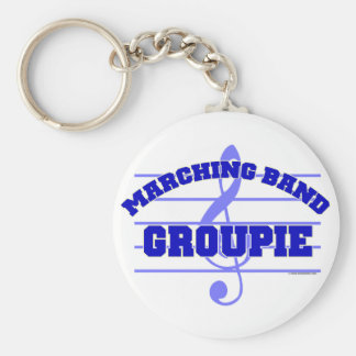 Marching Band Groupie Keychain