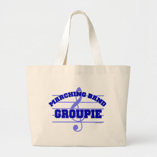 Marching Band Groupie Large Tote Bag