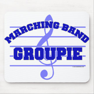 Marching Band Groupie Mouse Pad
